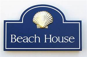 Beach, House, Property, Sign