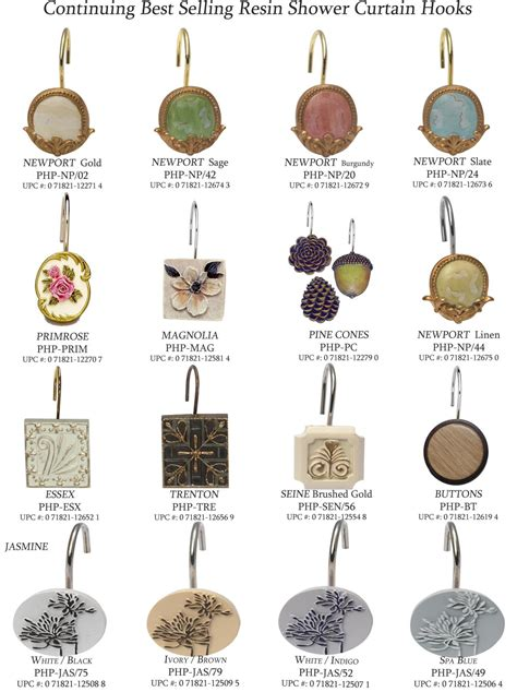 Types Of Curtain Hooks  Home The Honoroak
