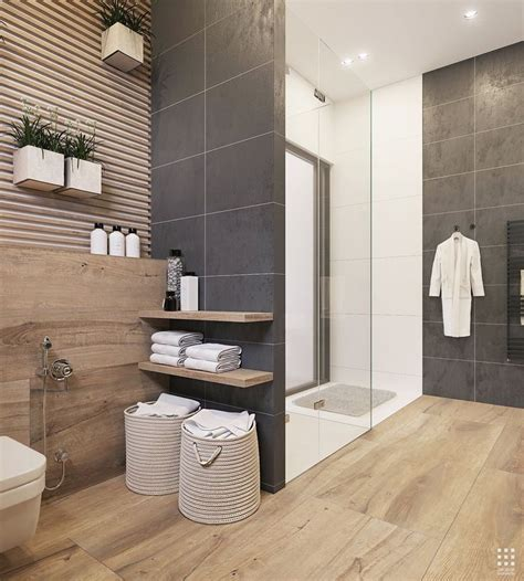 Badezimmer Fliesen Holzoptik Grau by The 25 Best Grey Bathroom Tiles Ideas On Grey