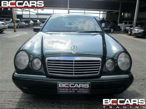Low retail value this vehicle would be in mechanically functional condition, needing only minor reconditioning. Used Mercedes-Benz e320   1996 e320 for sale   Pasig City Mercedes-Benz e320 sales   Mercedes ...