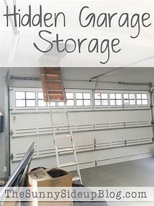 Hidden Garage Storage - The Sunny Side Up Blog