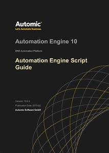 Automation Engine Script Guide