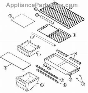 Parts For Magic Chef Ctb1922ara  Shelves  U0026 Accessories