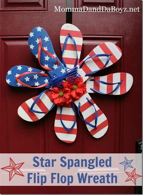 diy patriotic wreath ideas    july  memorial day
