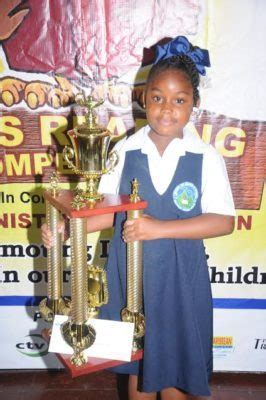 Keyshawn Alexander Is The New Courts Oecs Reading Champion  We Get Reaction From Her School