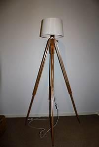 tripod floor lamp felt With wooden tripod floor lamp nz