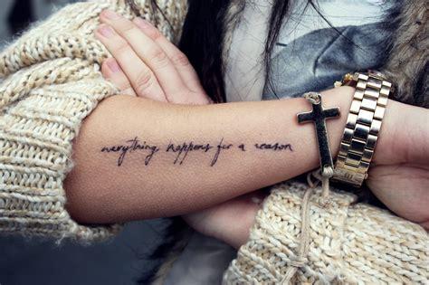 inspirational tattoo quotes  men women