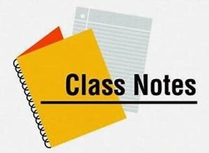 Class Notes: Students investigate lives of young people ...