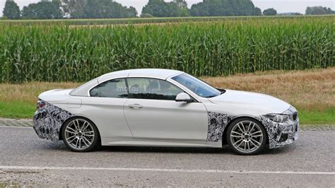 Modifikasi Bmw 4 Series Convertible by Bmw 4 Series Convertible Facelift Seen With M Sport Package