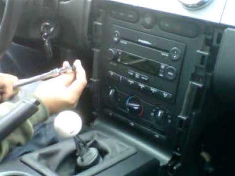 mustang radio  ford mustang