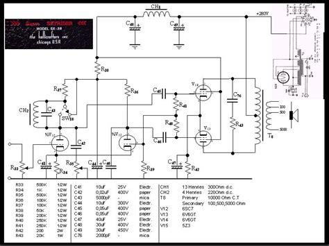 Circuit Diagram Of Push Pull Amplifier