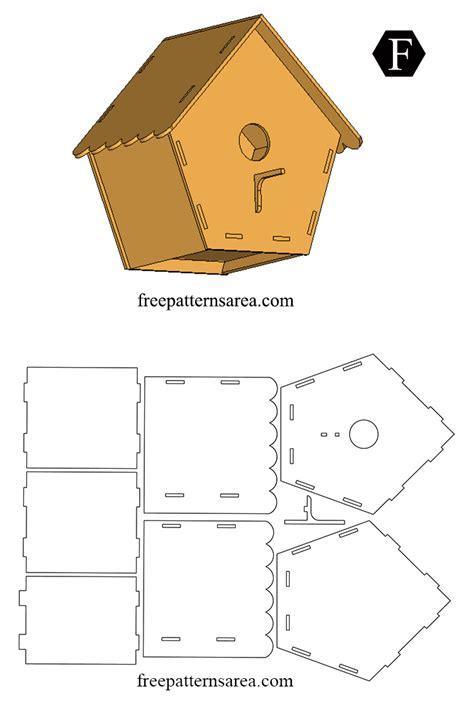 easy wooden bird house diy plan freepatternsarea