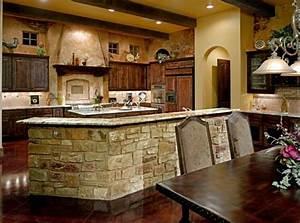 cuisine de charme idees pour la cuisine rustique moderne With best brand of paint for kitchen cabinets with papier peint livres