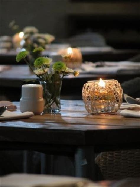 restaurant tables  candles picture  koi kemang