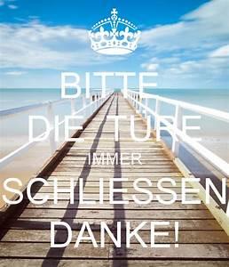 Bitte Türe Schließen : bitte die t re immer schliessen danke poster bella keep calm o matic ~ Orissabook.com Haus und Dekorationen