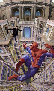 Incredible 3D Street Art By Kurt Wenner
