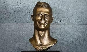 Artist who sculpted creepy Ronaldo statue cites Jesus in ...