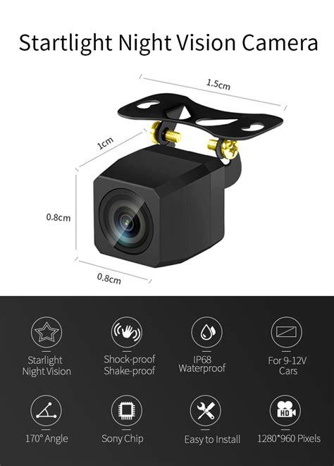 Super Starlight Night Vision Hd Ccd Car Reverse Camera