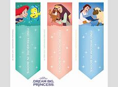 Disney Bookmarks Printable Printable Pages