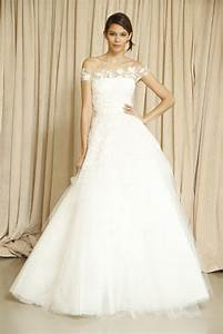 oscar de la renta wedding dress fall 2014 3 onewedcom With oscar de la renta wedding dresses