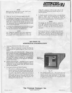 1willwander  Coleman Air Conditioner Installation