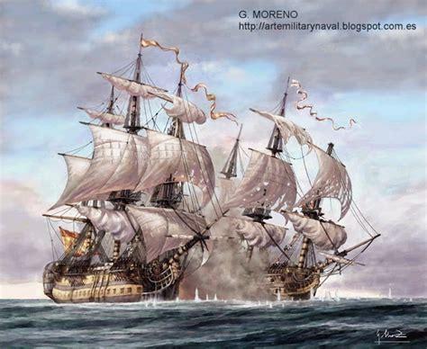 Imagenes De Barcos Del Siglo Xviii by Pintura Militar Y Naval Combate Naval Del Siglo Xviii