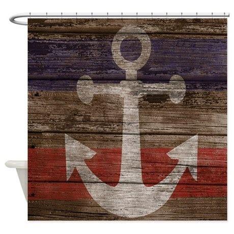 shower curtain nautical nautical anchor shower curtain shower curtain by