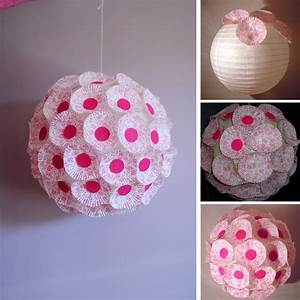 Boule Papier Deco : personnaliser une boule japonaise en lustre girly trouver des id es de d coration ~ Teatrodelosmanantiales.com Idées de Décoration