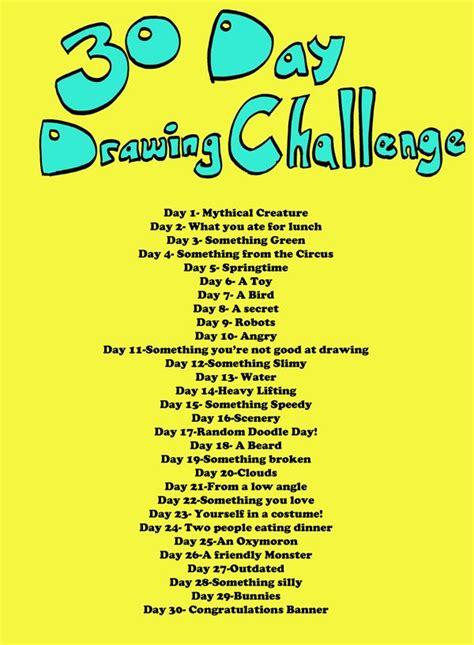 25+ Bästa Drawing Challenge Idéerna På Pinterest  Skissblocksidéer, Skissblock Och