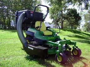 John Deere Lawn Mower Leaf Vacuum Systems