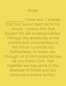 christian wedding vows christian wedding vows exles for groom and