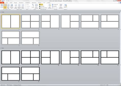 Design A Comic Book Template