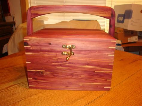aromatic red cedar sewing box  robert triplett