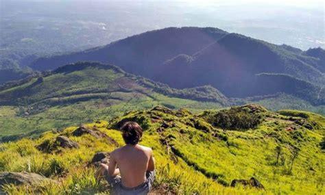 gambar gunung ungaran wisata semarang  meletus