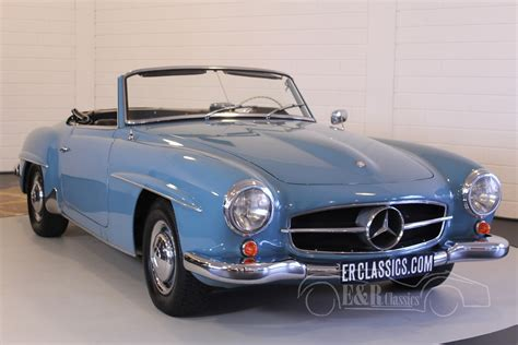 Mercedes Classic Car by Mercedes 190sl For Sale At E R Classic Cars