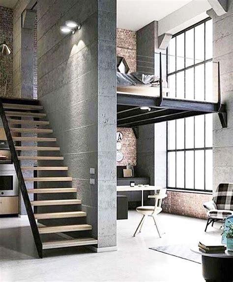stylish urban life // living room // city loft // urban