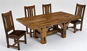 Timber Dining Table, Reclaimed Barn Beams, Hand Made Solid