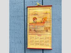Items similar to Vintage 1984 1985 Wall Calendar 12 month