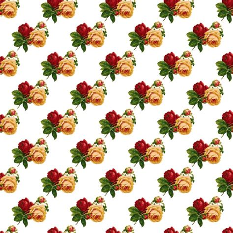 vintage roses wallpaper pattern  stock photo public