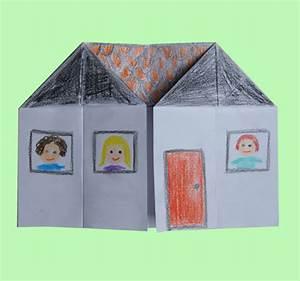 Origami Maison En Papier : maison origami perfect maison origami with maison origami ~ Zukunftsfamilie.com Idées de Décoration