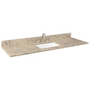 61 quot x 22 quot granite vanity top for rectangular single