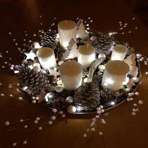deco de noel une deco noel pour la table un plateau decoratif lumineux