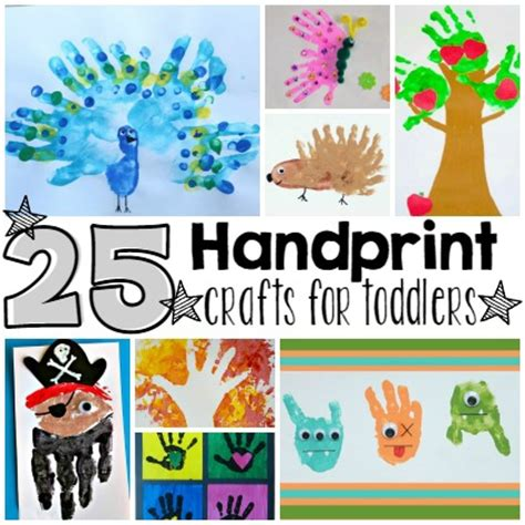 precious handprint crafts  toddlers