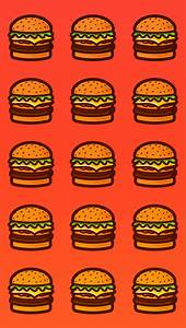 Burger wallpaper! Download it for iphone, ipad and your ...