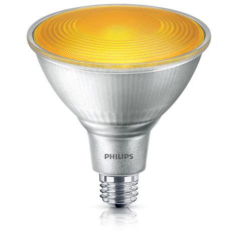 home depot lava l bulb philips 90w equivalent par38 yellow led flood light bulb