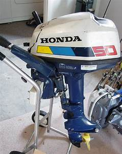 5 Hp Honda Bf 50 Outboard Boat Motor For Sale 4 Cycle