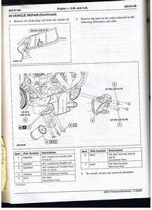 2002 Ford Explorer Engine Oil Leak