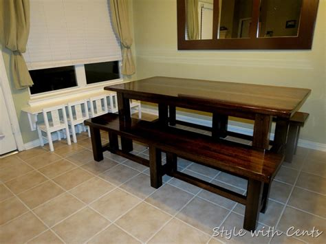style  cents refinishing  kitchen table