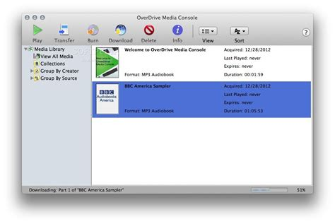 Overdrive Media Console Update by Overdrive Media Console Mac 1 1 1