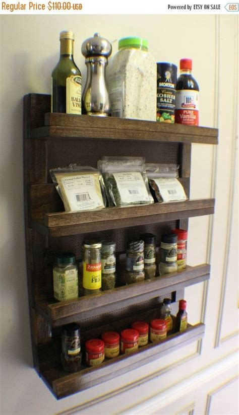 Spice Rack Wall Mount Ikea by Best 25 Wall Mounted Spice Rack Ideas On How